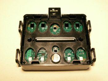 Circuito del sensor de lluvia de un vehículo Mercedes-Benz.